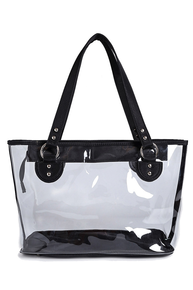 Clear See Through Tote Bag Agp Handbags Amp Apparel