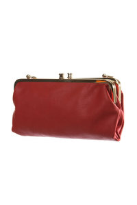 Restock Double Compartment Wrist and Shoulder Strap Wallet Clutch Bag