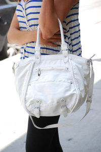 Casual Design With Shoulder Strap Hobo Handbag