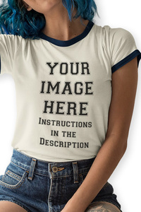 Your Image Here - Ringer Tee