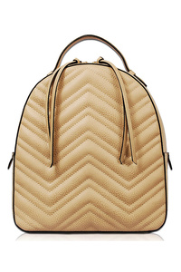 Three In One Chevron Pattern Backpack, Messenger And Wallet