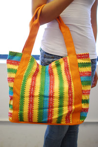Bohemian Jacquard Multi Color deco Tote Bag