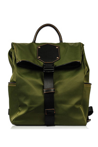 Flap Over Clip On Closure Backpack