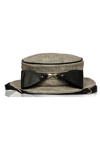 Hat Shape And Bow Backpack Style Bag