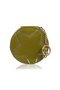 Sold Star Embo Coin Purse With Clip On
