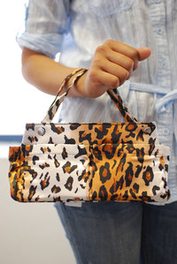 Animal Print Accessories and Cosmetic Interior Bag