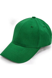 Six Panel Structured Cap with Velcro Back Strap
