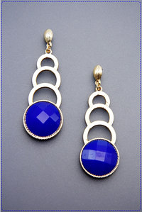Geo Dangling Fashion Earrings
