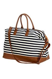 ETA 06/01 Stripe Canvas Duffle Bag
