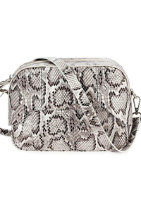 All Over Snake Skim Printed Messenger Bag