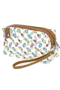 Clear Cosmetic Print Bag