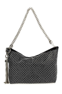 Rhinestones With Tassel Hobo Chain Strap Bag