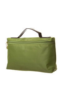 Cosmetic Nylon Bag with Top Handle