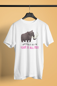 Love it Elephant Printed Jersey Short Sleeve
