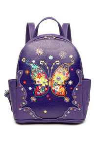 Butterfly Stitches And Studs Backpack
