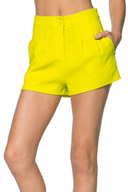Vivid Color Basic Shorts