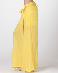 Be Seen Layered Wide-Leg Pants