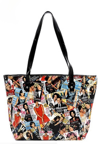 Michelle Obama Printed Tote Bag