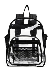 Clear See Through Top Handle Tote Bag