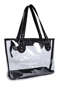 Clear See Through Tote Bag