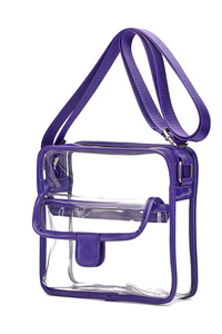 Clear See Through Two In One Adjustable Strap Messenger