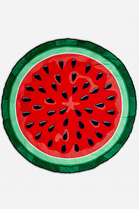 Watermelon Iconic Beach & Picnic Throw