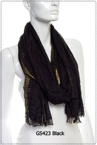 Fashion Trend Scarf Design Pre-Pack 6 pcs Even Color