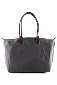 Restock Over size Duffle Shinny Nylon Double Handle Tote Large Size